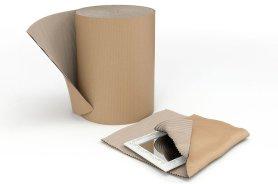 Protection et calage avec du carton- calage des palette- protection des cartons- produit de calage ecologique - produit recyclable- protection des marchandises-  carton ondule-Antalis,1