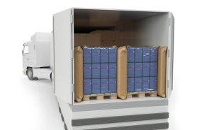 Protection pour Produit Lourd- barriere antichoc- gaines de protection en filet extensible- emballage- transport- calage- palette- Antalis,1