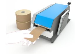 Bande Adhesive Gommee - Bande adhesive en Kraft - temoin d'inviolabilite- Antalis,1