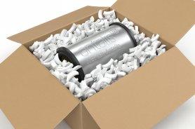Particulaire de Calage - Chips de calage- protection des colis- Calage particulaire en polystyrene- Emballage- Protection - Calage - proteger les objets fragiles - antalis,1