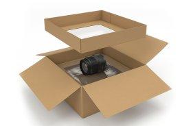 Boîte Rembourree avec capitonnage Mousse - Emballage carton- Protection des marchandises- calage- Antalis,1