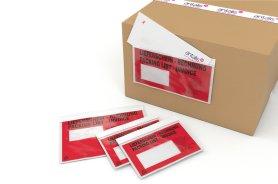 Pochette Porte-Document- Pochette d'identifcation pour colis- Pochette adhesive d'expedition - Antalis