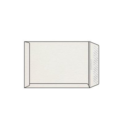Enveloppe C4 229 x 324 mm sans bande sans fenêtre Conqueror vergé, vergé blanc, strip, patte droite, 120g/m2 contient du coton