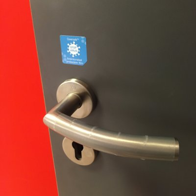 Coala Coversafe application door handle