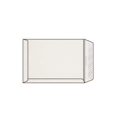 Enveloppe C4 229 x 324 mm sans fenêtre Conqueror CX22, lisse, blanc, strip patte droite, 120g/m2 contient du coton
