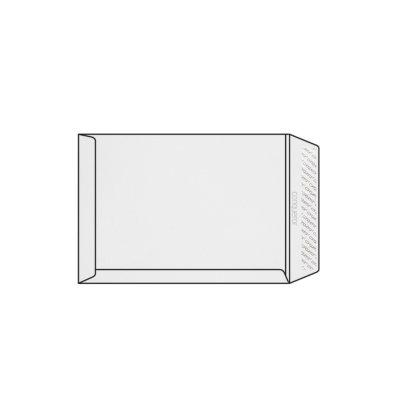 Pochette C4 229 x 324 mm sans fenêtre Conqueror CX22, lisse, blanc diamant strip, patte droite, 120g/m2 contient du coton