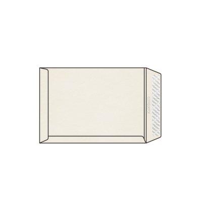 Enveloppe C4 229 x 324 mm sans fenêtre Conqueror Bamboo, Banded, sans filigrane vélin, Natural white, strip patte droite, 120g/m2