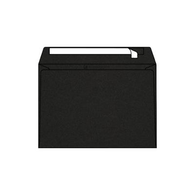 Enveloppe Pop'Set C5, 162x229, Enveloppe de creation, Noire,Reglisse, Black , Antalis France