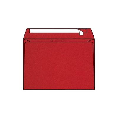 Enveloppe Pop'Set C5, 162x229, Enveloppe de creation, Rouge, Ultra Red , Antalis France