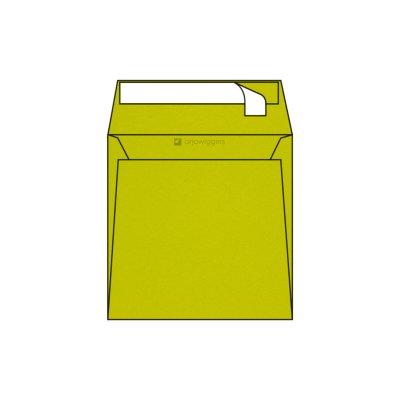 Enveloppe Carrée Pop'Set, 170x170, Enveloppe de creation,Jaune, Lime Tonic, Antalis France