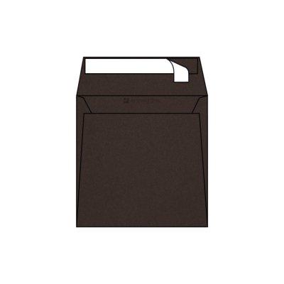 Enveloppe Carrée Pop'Set, 170x170, Enveloppe de creation,Marron, Hot Brown, Antalis France