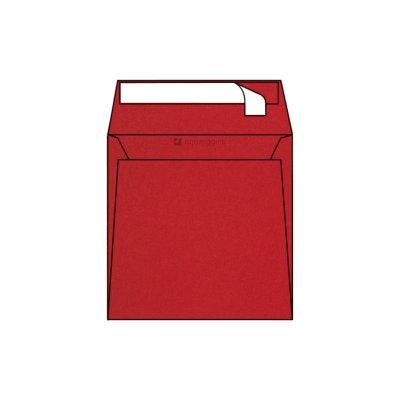 Enveloppe Carrée Pop'Set, 170x170, Enveloppe de creation, Rouge, Ultra Red, Antalis France