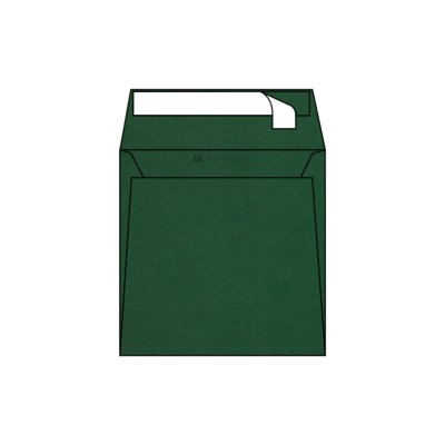 Enveloppe Carrée Pop'Set, 170x170, Enveloppe de creation,Verte, Cactus grey, Antalis France
