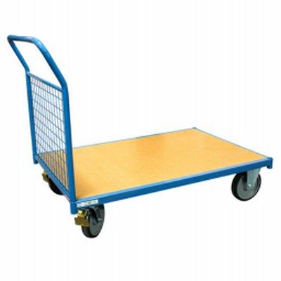 Photo Chariot modulaire 500 kg 1 dossier grillagé amovible