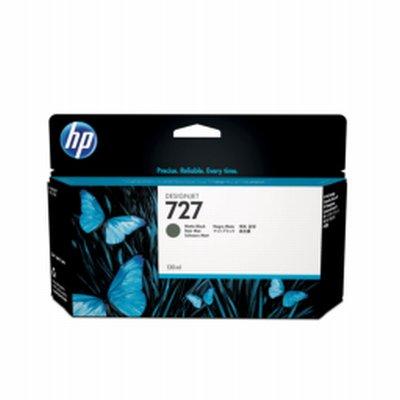 HP 727 Noir Mat Ink 130ml