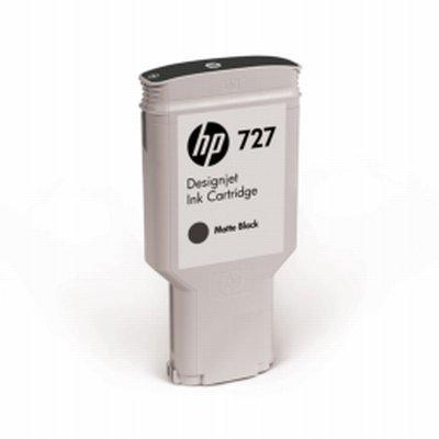 HP 727 Noir Mat Ink 300ml