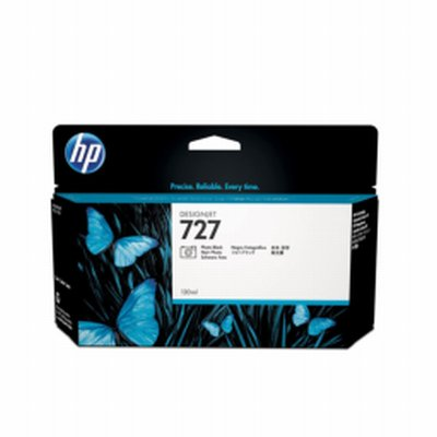 HP 727 Noir Photo Ink 130ml