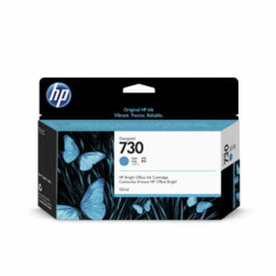 HP 730 Cyan Ink 130ml