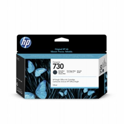 HP 730 Noir Mat Ink 130ml