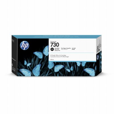 HP 730 Noir Photo Ink 300ml