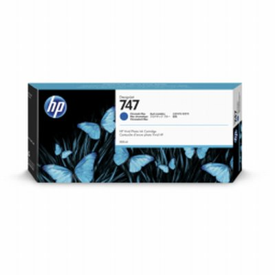 HP 747 Bleu Chroma Ink 300ml