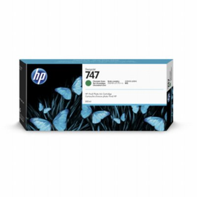 HP 747 Vert Chroma Ink 300ml