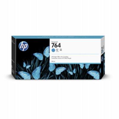HP 764 Cyan Ink 300ml