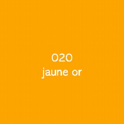 Oracal 551  020 Jaune Or