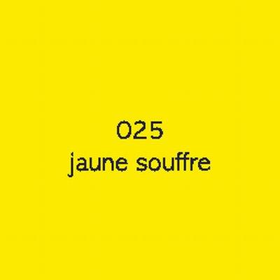 Oracal 751C  025 Jaune Souffre