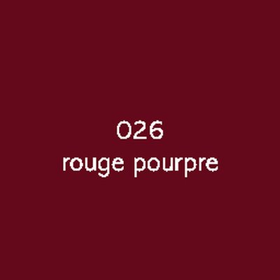 Oracal 751C  026 Rouge Pourpre