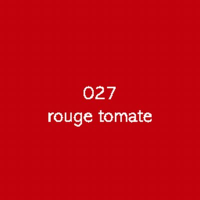 Oracal 751C  027 Rouge Tomate