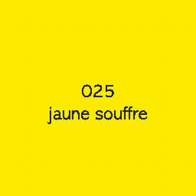Oracal 8300  025 Jaune Souffre