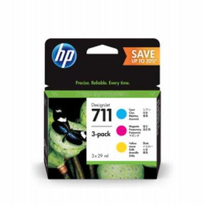 HP 711 CMJN Ink 29ml 3 Cart