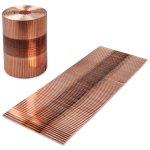 Agrafe cuivre pour agrafage pneumatique - Agrafes à Plat - Agrafes en rouleau - Antalis