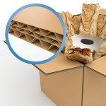 Caisse Carton Triple Cannelure ; Boite carton triple cannelure ; Boite carton solide; Antalis