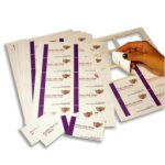 Carte de visites Xerox - Pre decoupees- Impression sur son imprimante de bureau- Xerox Laser Business Cards- Impression laser Couleur et monochrome - 003R97512- Antalis