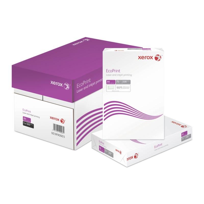Xerox EcoPrint - Papier de bureau multi fonction - reprographie et impression laser -Papier A4 - A3- Impression Monochrome-  Antalis