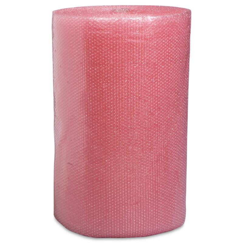 Film bulle antistatique- emballage de composants electroniques et electriques- Protection pour le stockage- protection pour le transport- Film de couleur rose pour une parfaite identification- Antalis