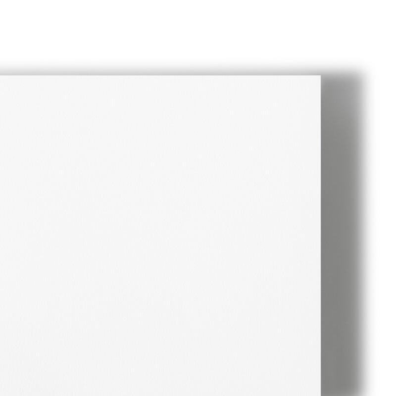 Papier de creation 100 % fibres de coton - Arches Carte de Lunch- papier velin-la teinte naturelle- au grain fin prononce-4 bords franges- Filigrane- Antalis