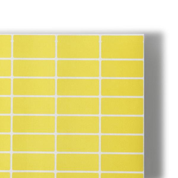 Auto-adhesifs Predecoupes couleur  - Artac Maxi planche- etiquettes couleur- sans refente - Etiquette autocollante - Impression Offset - Antalis