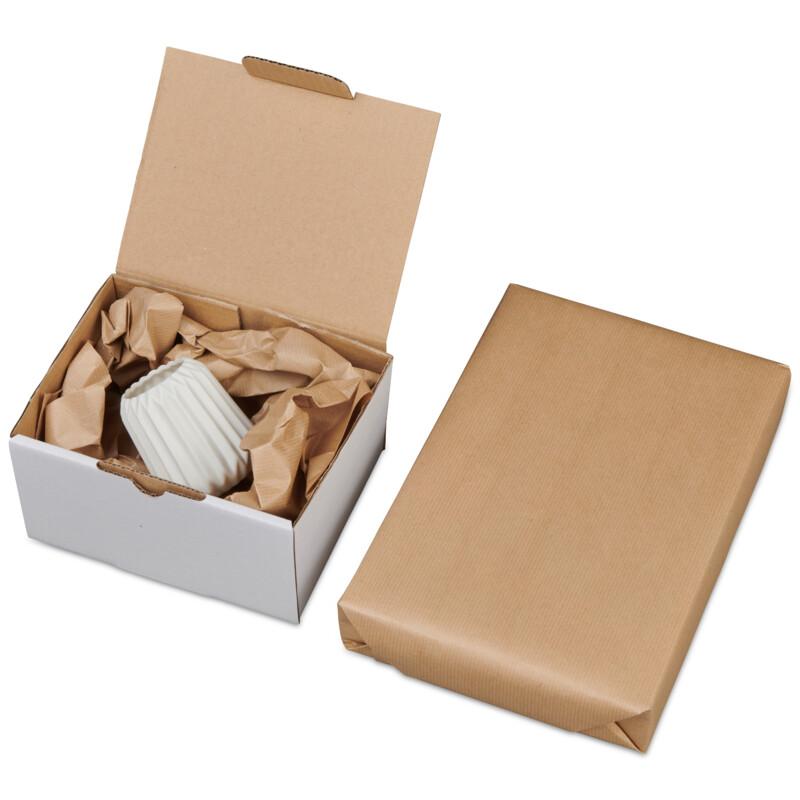 Kraft d'emballage -satine strie- kraft brun- 90g/m2- Emballage- Expedition - Packaging- Antalis