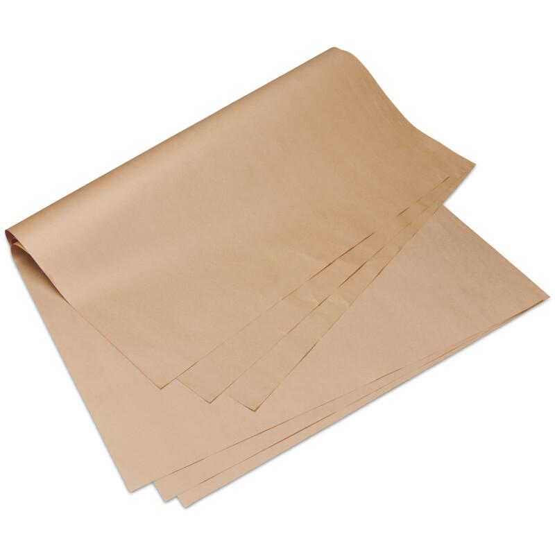 Kraft d'emballage- satine strie- kraft brun- 90g/m2-  Emballage- Expedition - Packaging- Antalis