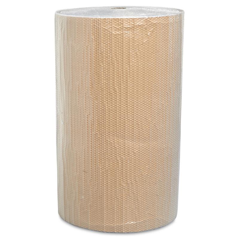 Film de kraft à bulles- Protection des objets fragiles - discretion avec le kraft- Conditionnement des produits de valeur- Antichoc- Anti vibration- transport - stockage - emballage - Antalis