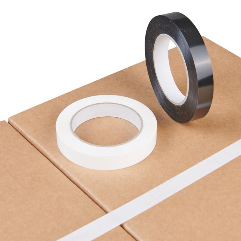 Ruban adhésif manuel de cerclage lisse polypropylène acrylique rouleau