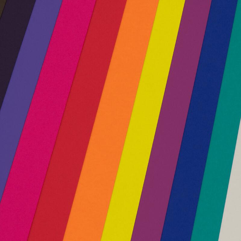 Rame de papier de creation - Curious Skin - Papier satine - effet tactile- plusieurs coloris-Enveloppes assorties - Antalis