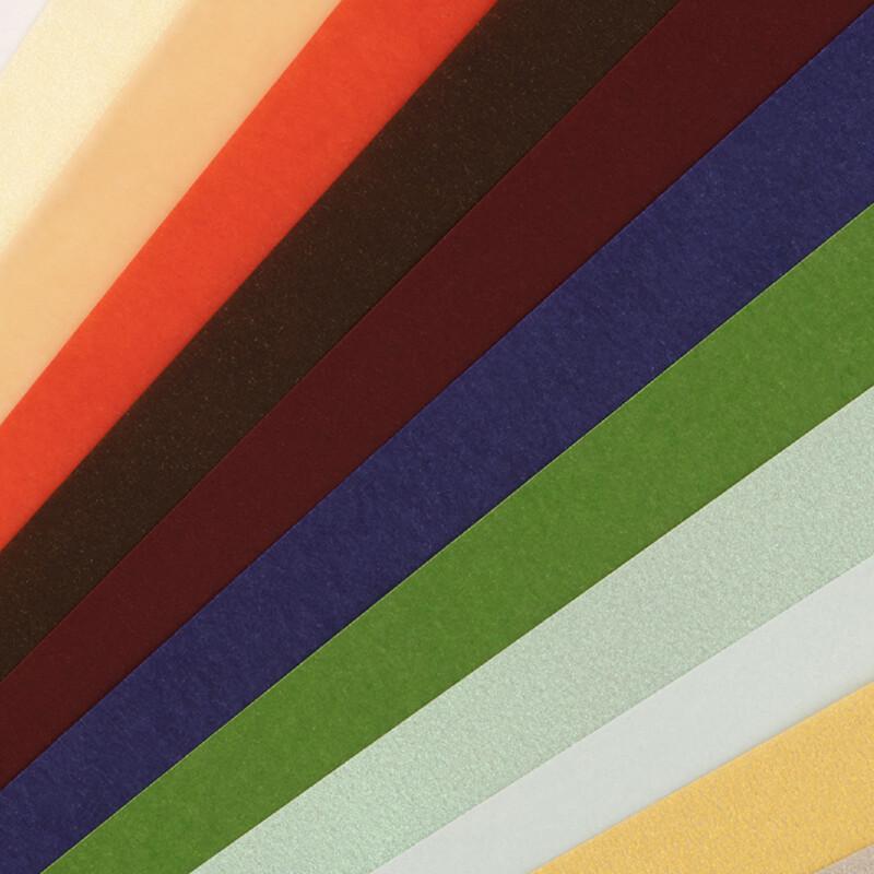 Papier Curious Translucents Color - Papier calque de couleur - Haut de gamme - Papier de creation- Communication d'entreprise- 12 coloris - Enveloppes assorties - Antalis