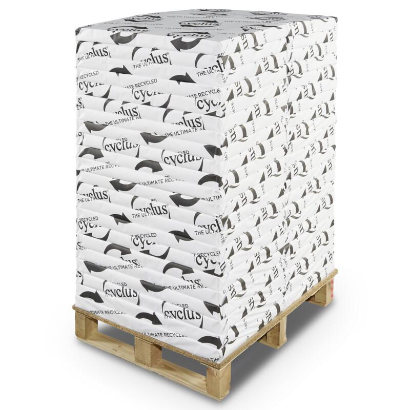 Cyclus Preprint - Offset preprint Recycle -100 % recycle- Blancheur naturelle - Importante opacité - Antalis