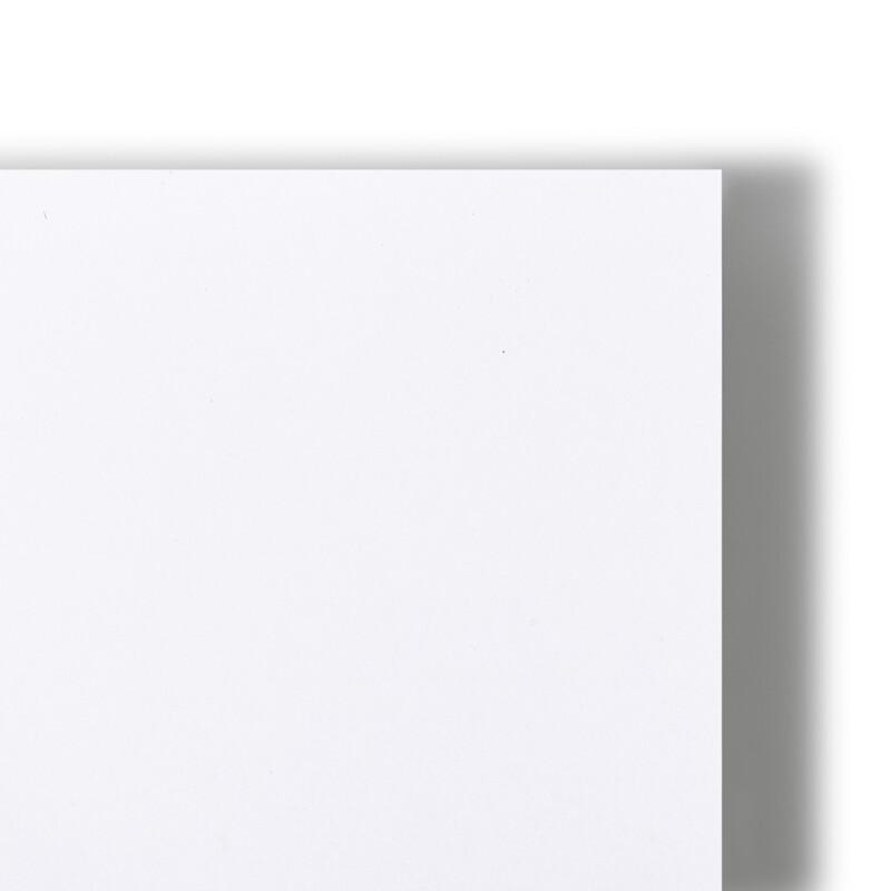 Carton serigraphique Displayline Print PE - Carton Grand Format  - couche deux faces blanc satine Polyethylene - impression numerique - Offset - Jet d'encre UV - PLV exterieure - affichage rigide exterieur - Antalis