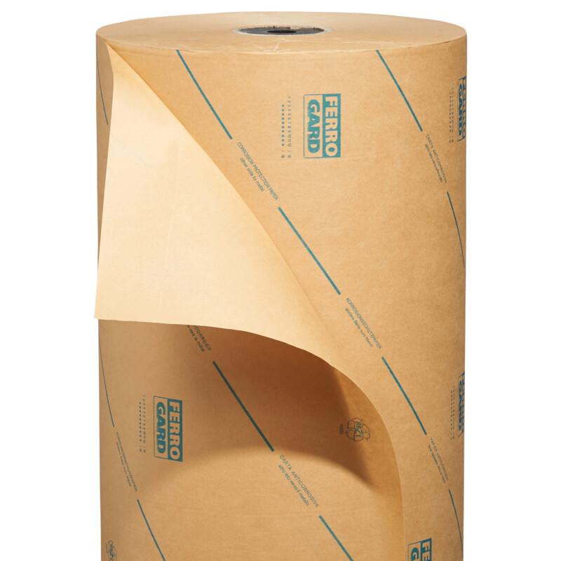 Papier VCI- Ferrogard - anti-corrosion -kraft brun - Anti Rouille - Antalis