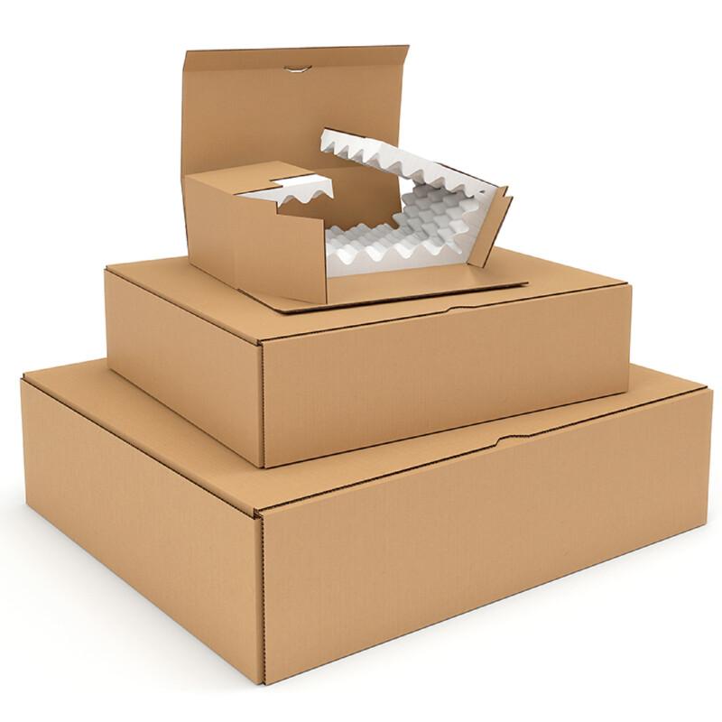 Boite Carton avec Mousse - Boite avec capitonnage en mousse - Antalis